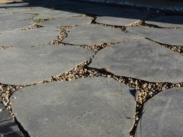 אבן מדרך בזלת